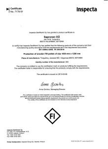 FIN aluse valmistusluba