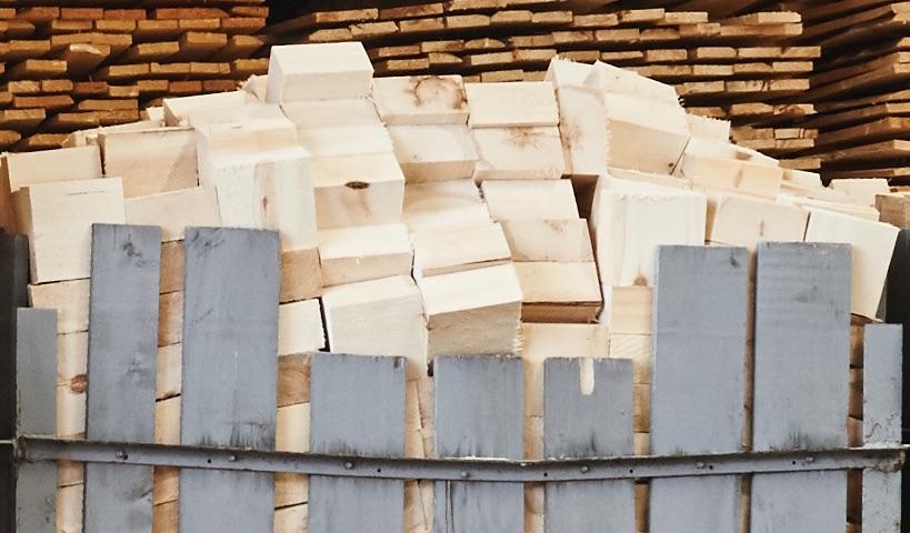 Material för tillverkning av lastpallar